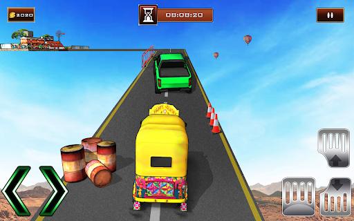 Bicycle Rickshaw Simulator 2019 : Taxi Game screenshot 2