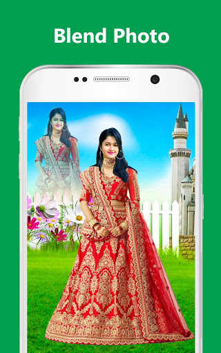 Bridal Lehenga, Lehenga Choli & Saree Photo Editor screenshot 14