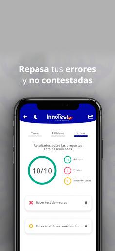 InnoTest Policía Nacional 2020 - Test Oposiciones 6 تصوير الشاشة