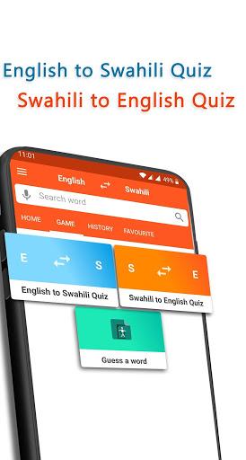 English To Swahili Dictionary screenshot 5