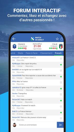 Match en Direct - Live Score 6 تصوير الشاشة