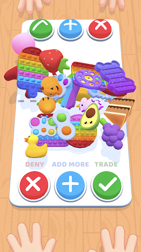 Fidget Toys Trading: fidget trade relaxing games screenshot 1