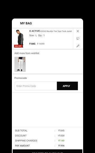 Koovs Online Shopping App скриншот 5