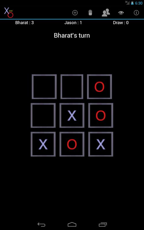 X and O screenshot 10