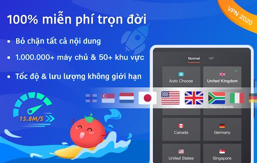VPN Tomato miễn phí   Điểm truy cập nhanh nhất screenshot 6