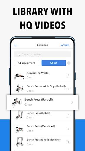 Hevy - Workout Tracker Planner Weight Lifting Log 8 تصوير الشاشة