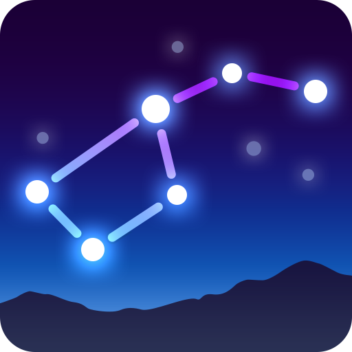 Star Walk 2 Free - Sky Map, Stars & Constellations أيقونة