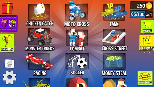 Cubic 2 3 4 ألعاب لاعب 1 تصوير الشاشة
