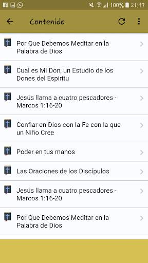 Estudios Bíblicos Profundos screenshot 5