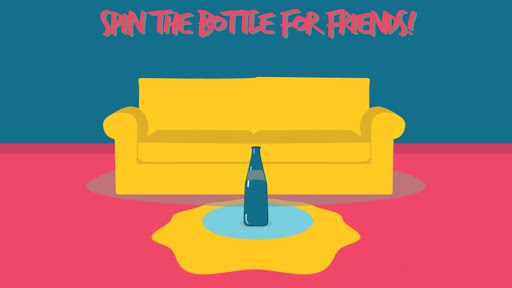 Spin the Bottle for Friends! screenshot 1