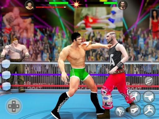 بطولة المصارعة العالمية لبطولة الفرق 8 تصوير الشاشة