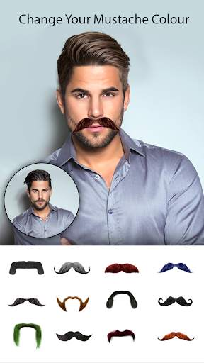 Man Photo Editor : Man Hair style ,mustache ,suit screenshot 8