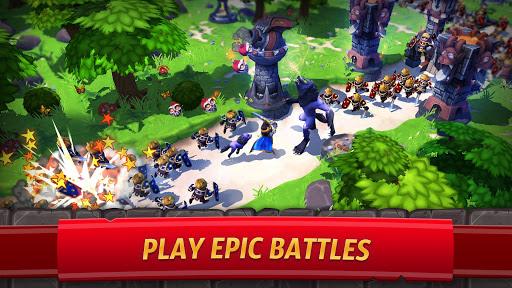 Royal Revolt 2: إمبراطورية RPG - حرب جيش تصادم 2 تصوير الشاشة
