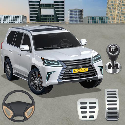 Car Parking Simulator Games: Prado Car Games 2021 icon