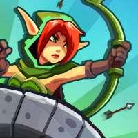 Realm Defense: Lendas do Herói Defesa de Torre TD on 9Apps