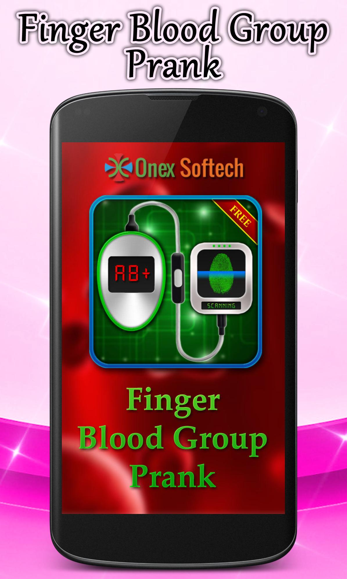 Finger Blood Group Prank screenshot 1