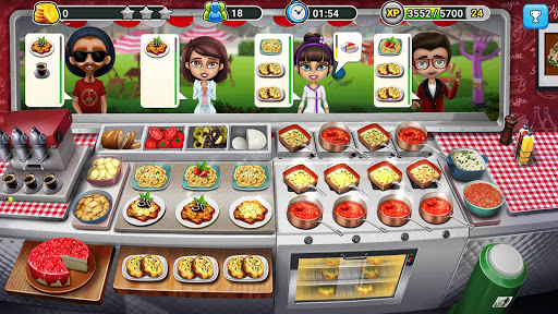 👩‍🍳Food Truck Chef™👨‍🍳 Permainan Memasak🍕🍩🍰 screenshot 2
