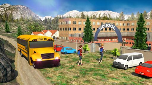 School Bus: Up Hill Driving screenshot 6