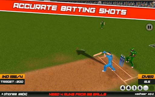 Cricket Superstar League 3D screenshot 5