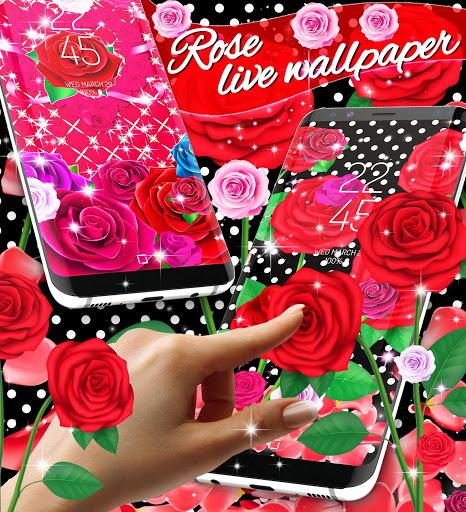 2020 Roses live wallpaper screenshot 1
