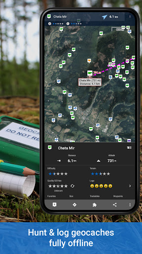 Locus Map 4: Hiking&Biking GPS navigation and Maps screenshot 5