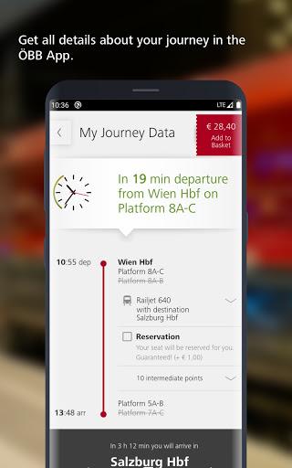 ÖBB – Train Tickets & More screenshot 1