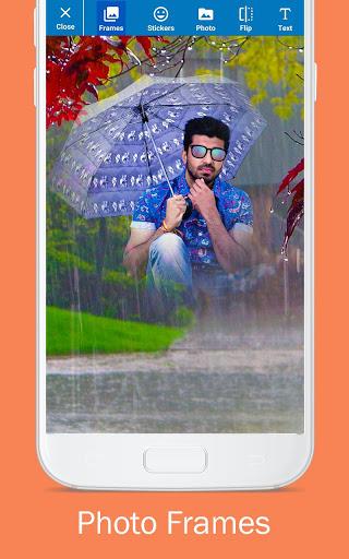 Rain Photo Editor and Frames 13 تصوير الشاشة
