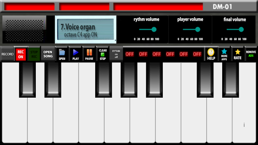 Electronic organ 3 تصوير الشاشة