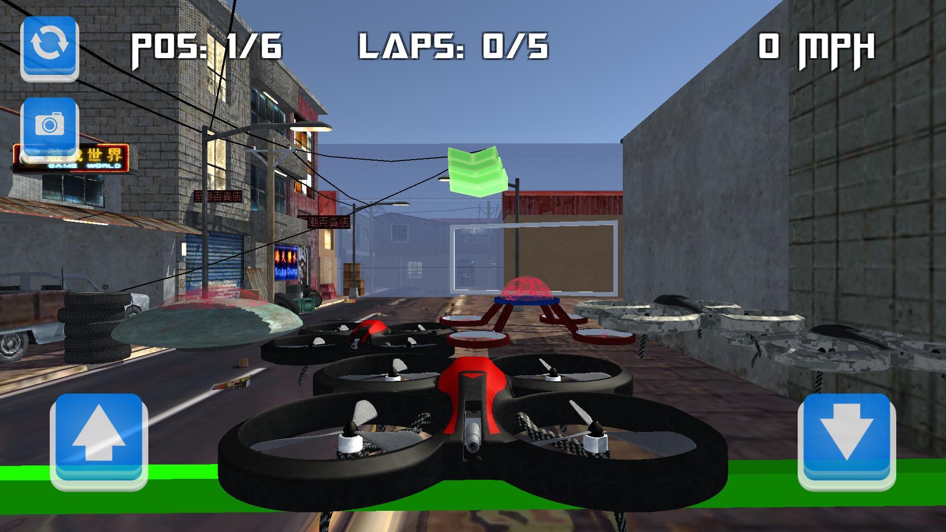 Drone Racing 1 تصوير الشاشة