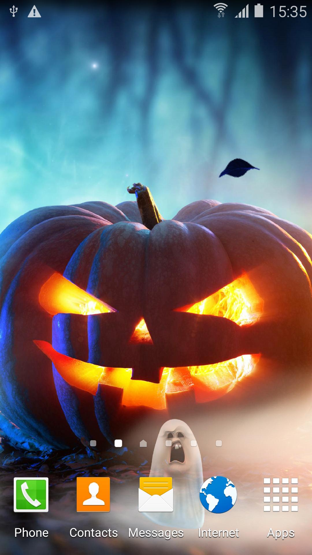 Halloween Live Wallpaper screenshot 3
