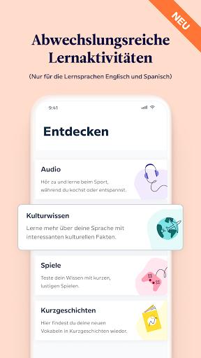 Babbel – Sprachen lernen – Englisch, Spanisch & Co screenshot 5