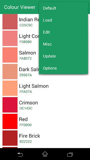 Colour Viewer screenshot 1