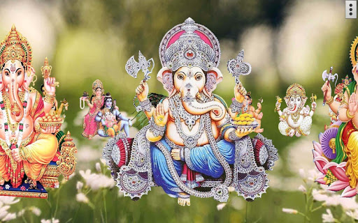 4D Ganesh Live Wallpaper скриншот 10