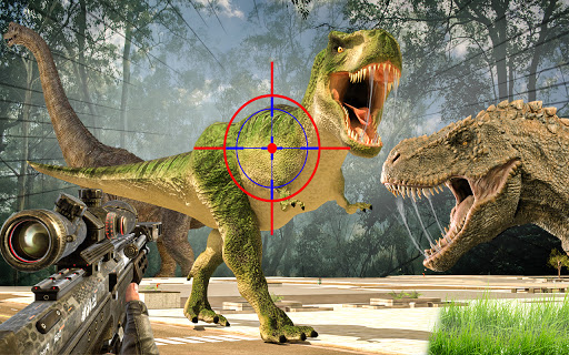 Wild Dino Shooting Adventure : Deer Hunting Games screenshot 2