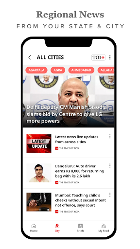 The Times of India Newspaper - Latest News App скриншот 4
