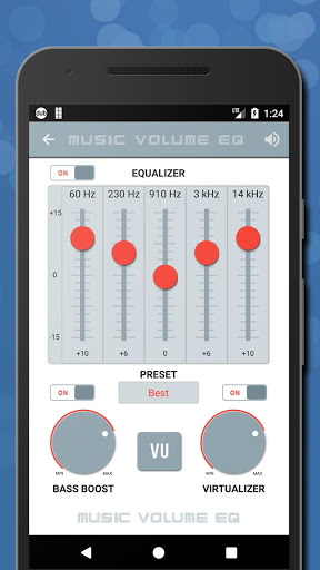 Music Volume EQ — Equalizer Bass Booster Amplifier 4 تصوير الشاشة