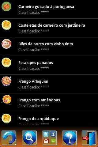 Portuguese Recipes screenshot 3