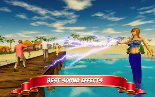 Underwater Mermaid Simulator screenshot 4