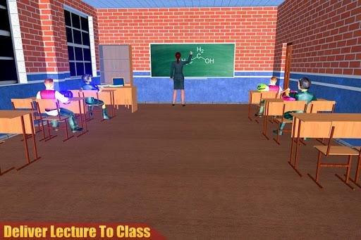 الظاهري مدرسة ثانوية المعلم 3D 7 تصوير الشاشة