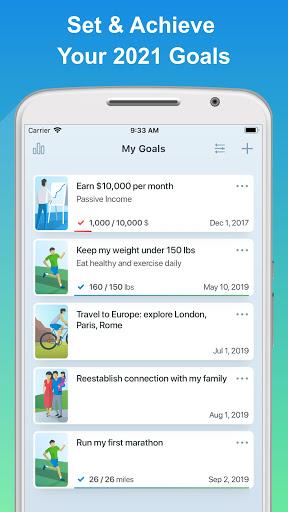 Success Life Coach - Goal Planner & Habit Tracker screenshot 1