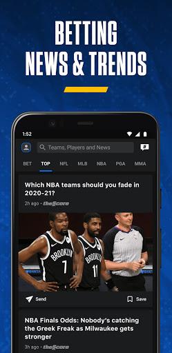 theScore: Live Sports Scores, News, Stats & Videos screenshot 5