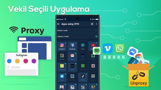 XY VPN - Ücretsiz, Güvenli, Engellemeyi Kaldır screenshot 6