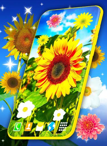 HD Summer Live Wallpaper 🌻 Flowers 4K Wallpapers screenshot 7