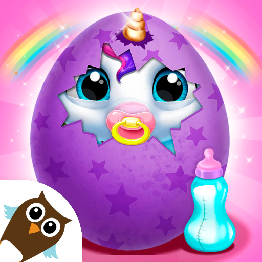My Baby Unicorn - Virtual Pony Pet Care & Dress Up أيقونة