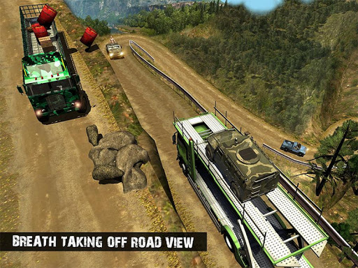 OffRoad US Army Transport Simulator 2020 screenshot 14