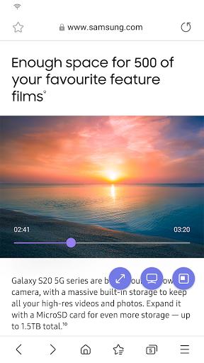 Samsung Internet Browser screenshot 4