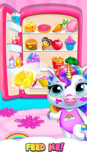 My Baby Unicorn - Virtual Pony Pet Care & Dress Up 3 تصوير الشاشة