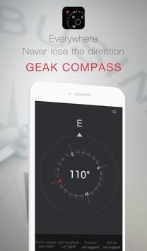 GEAK Compass screenshot 1