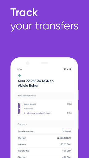 WorldRemit Money Transfer App: Send Money Abroad screenshot 7