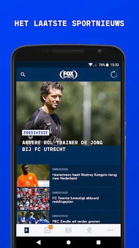 FOX Sports NL 1 تصوير الشاشة